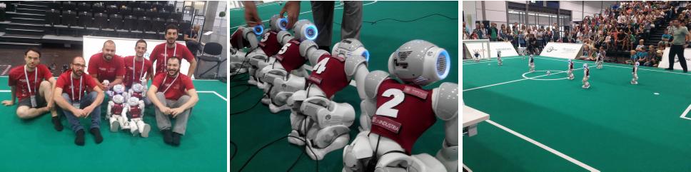 spqr team competition Robocup 2016