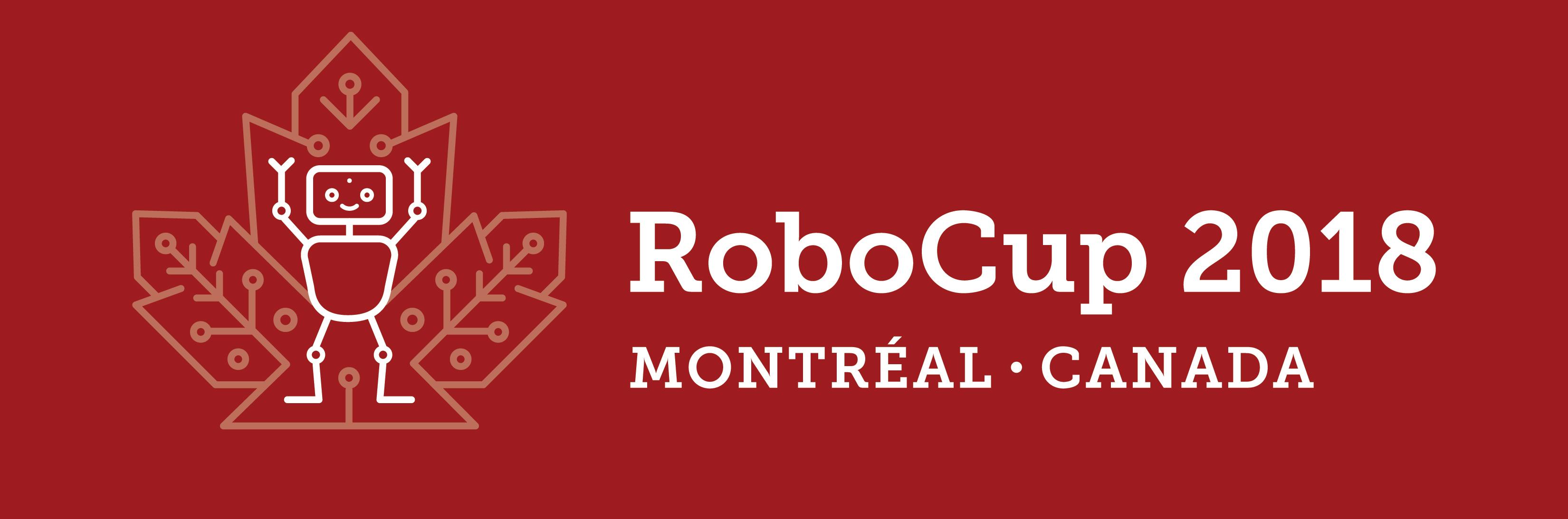 RoboCup 2018 Logo