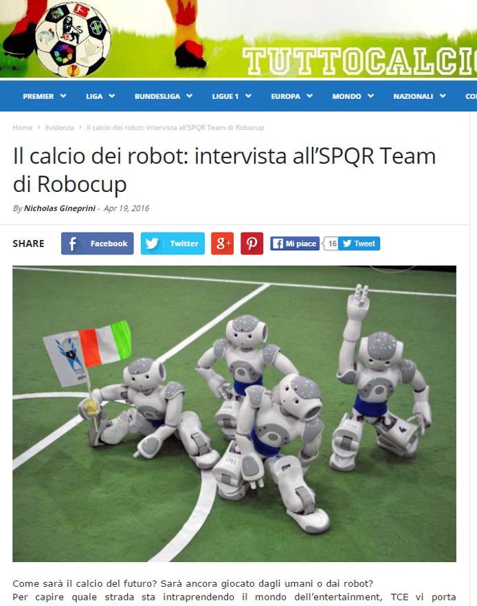 spqr team tutto calcio estero